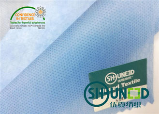 Niebieski PP Spunbond Non Woven Fabric Medical Filed 100% polipropylen